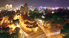 Downtown Saigon (Ho Chi Minh City), Vietnam